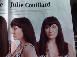 La nouvelle coupe de cheveux de Julie Couillard