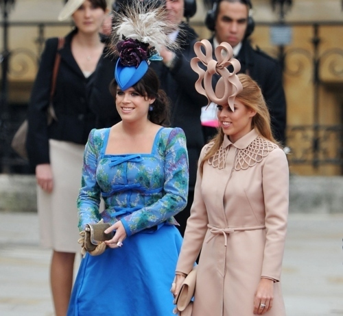 Princesse Eugenie de York et Princesse Beatrice de York