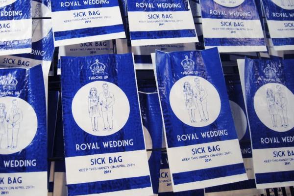 Sac à vomis royal