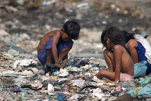 Brésiliens pauvres