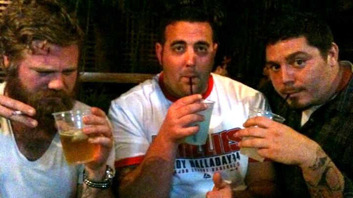 Ryan Dunn dans un bar avant son décès