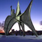 L'Homme d'Alexander Calder, à Montréal