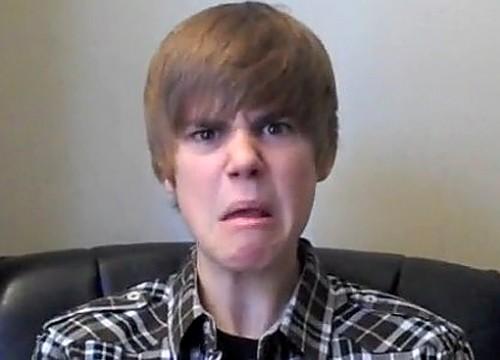 Justin Bieber est fâché
