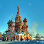Cathédrale Saint-Basile, Place rouge, Moscou, Russie