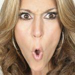 Céline Dion semble fâchée