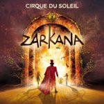 Spectacle Zarkana du Cirque du Soleil