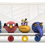 Le Logo des muppets en l'honneur de Jim Henson