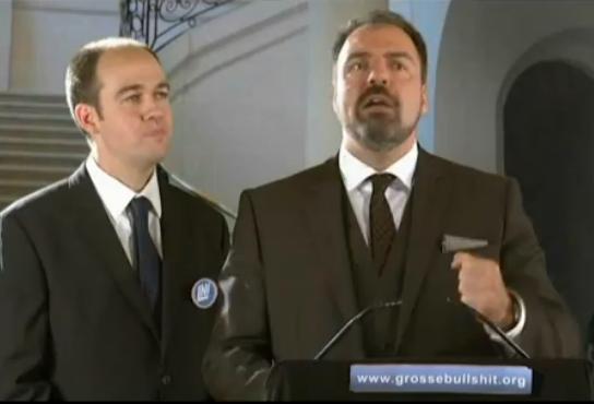 Commission d'enquête satirique avec Mike Ward, Guy Nantel et Jean-François Mercier