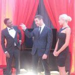 Tapis rouge avec Dany et Christyna Boudreault