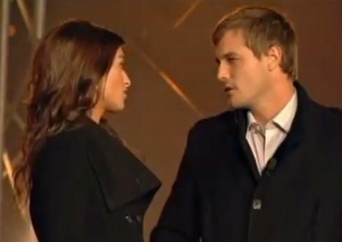 Confrontation en public de Nancy et Georges-Olivier