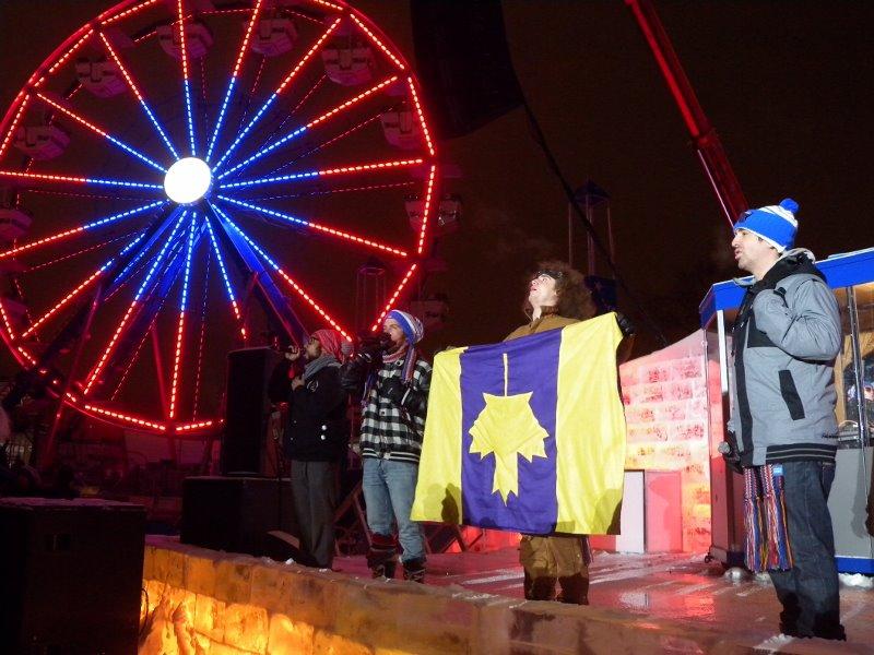 Alaclair Ensemble au Carnaval de Québec