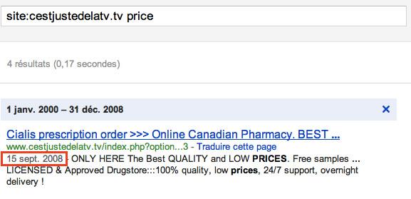 C'est juste de la TV hacké depuis septembre 2008
