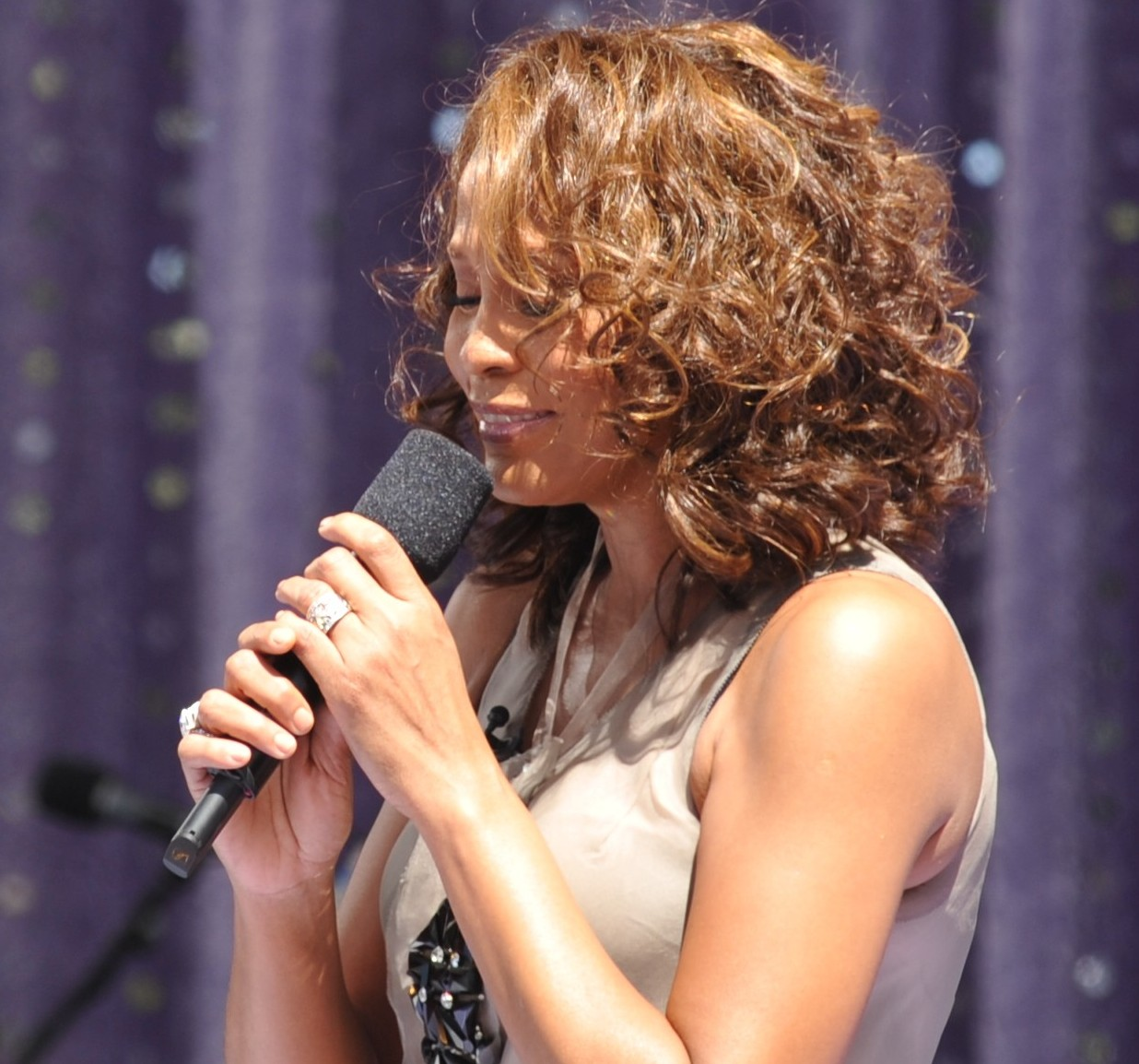 Whitney Houston au Greatest Comeback Concert