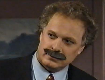 Jean Charest avec une moustache