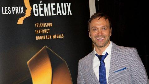 Joël Legendre au Gala des prix Gémeaux 2012