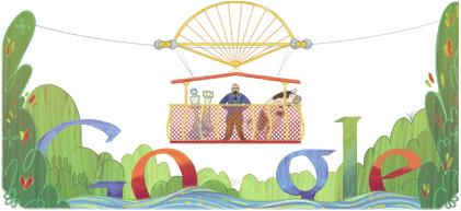 Logo de l'inventeur du Whirlpool Aero Car de Niagara