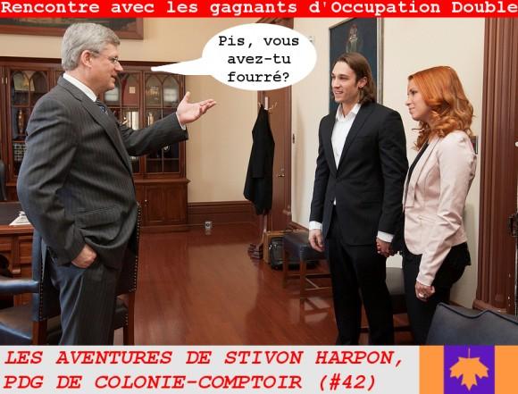 Stivon Harpon, PDG de Colonie-Comptoir