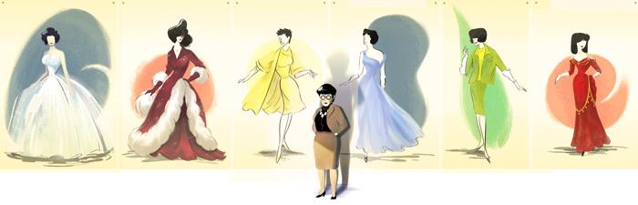 Edith Head, le doodle de Google