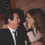 L'animatrice et productrice Julie Snyder et son fiancé, Pierre-Karl Péladeau