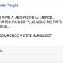 Marie Chantal Toupin répond à ses détracteurs sur Facebook